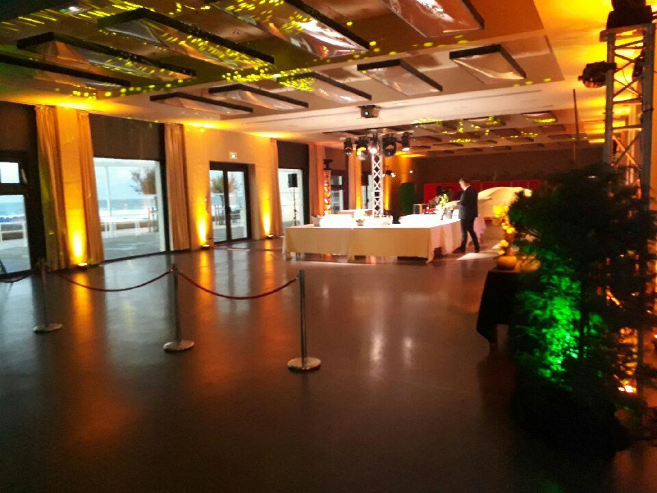 location projecteur led decoration