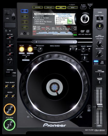 platine pioneer-cdj-2000 bruno sono pays basque 64-40