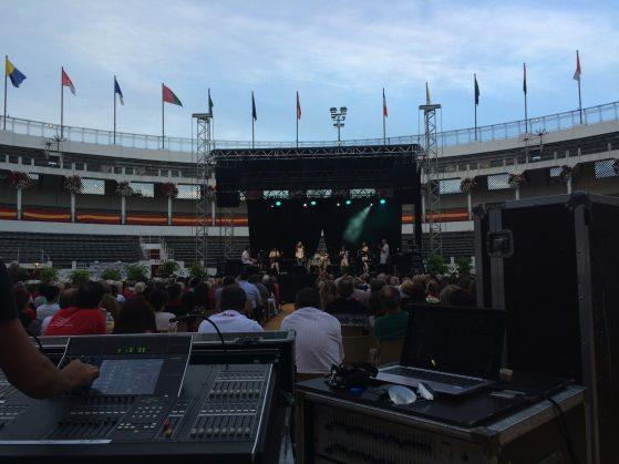 sonorisation tremplin chant pays basque landes