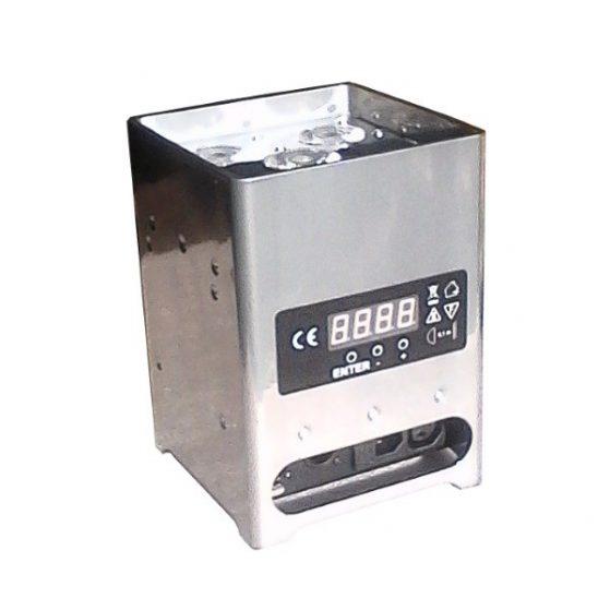 projecteur deco batterie Inox 64 40 location