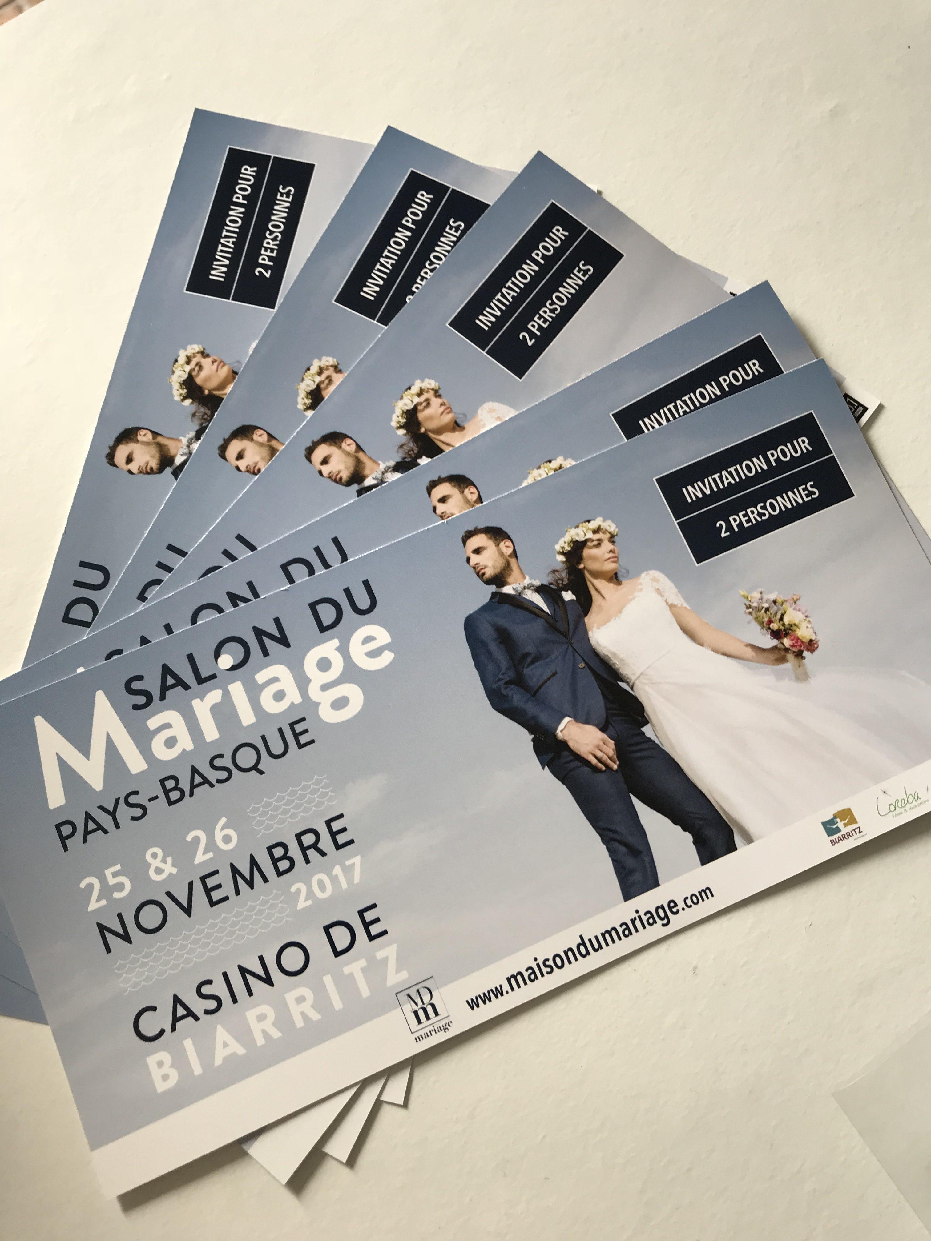 Salon du mariage pays Basque 2017/2018